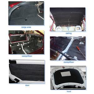 Image 4 - X AUTOHAUX 3mm/5mm/8mm/10mm עובי רכב קליטת קול רעש חום הגהה בידוד תא קצף כותנה Deadener Mat