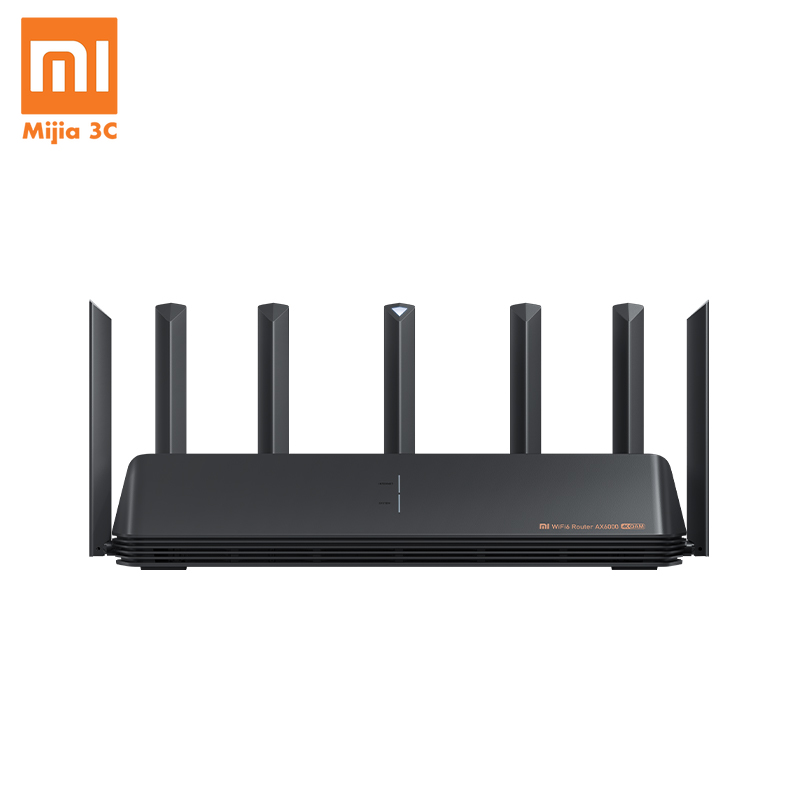 New Xiaomi AX6000 AIoT Router 6000Mbs WiFi6 VPN 512MB Qualcomm CPU Mesh Repeater External Signal Network Amplifier Mi Home 1