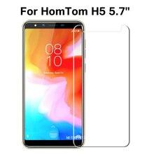 HomTom H5 Gehärtetem Glas 9H Hohe Qualität Schutz Film Screen Protector Telefon Abdeckung Glas Für HomTom H 5 5,7 zoll