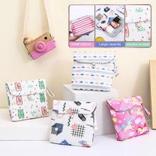 1 pcs Sanitary Napkin Storage Bags Cotton Pads Package Bags Coin Jewelry Organizer Credit Card Pouch Case fashion Towel Bags