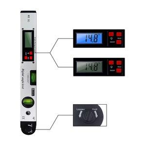 Image 4 - 0 225 תואר דיגיטלי זווית רמת מטר מד 400mm 16 אינץ אלקטרוני מד זווית משלוח חינם
