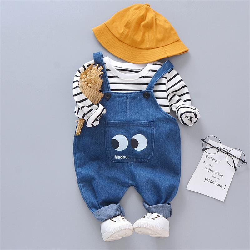 2020 Spring Autumn Baby Girl Clothes Toddler Girl Suits Denim Coat+T-shirt+Jeans Outfit Kids Clothes For Baby Girls Clothing Set