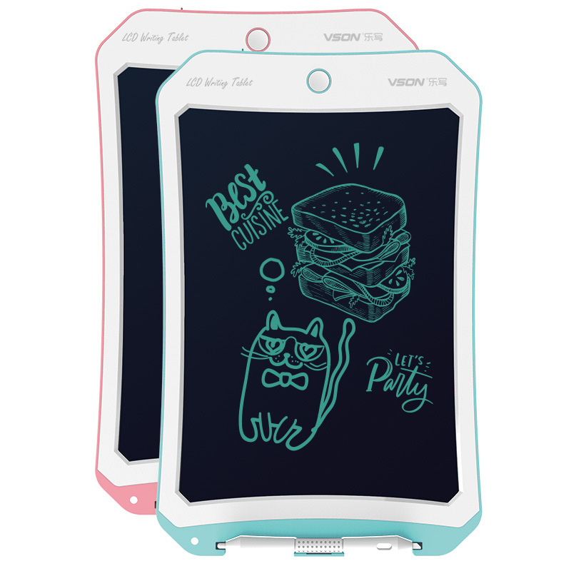 Music Write Children LCD Tablet Painting Graffiti Baby Household Electronic Drawing Board Light Small Blackboard Writing Board