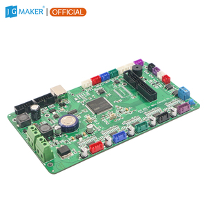 Image 3 - JGMAKER A5S A1 A3S 3D Printer Mother Board Motherboard Main Controller Board Self Developed Firmware with 4 pcs A5984 Drive
