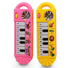 เปียโนเด็กของเล่นเด็กวัยหัดเดินพัฒนาการของเล่นพลาสติกเด็กดนตรีเปียโนของเล่นเพื่อการศึกษาเครื่องดนตรี