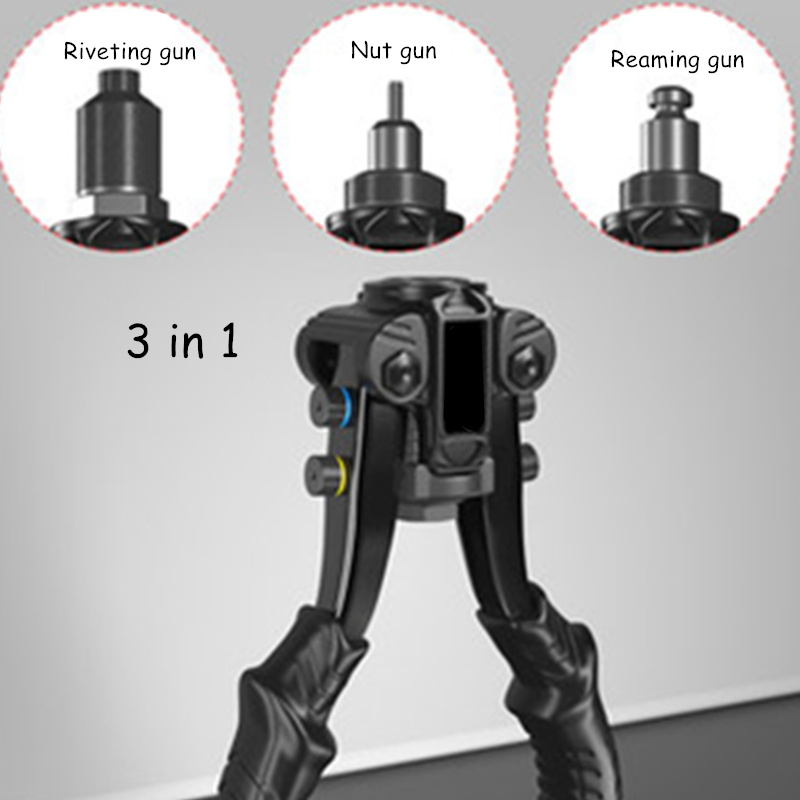 Nut Gun Rivet Gun Tool Pressure Riveting Ram M3-M6-M12 Manual Industrial Grade Riveting Gun