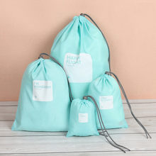 4pcs/lot Travel Shoe Laundry Lingerie Makeup Pouch For Cosmetic Underwear Waterproof Storage Organizer Bags #R5(China)