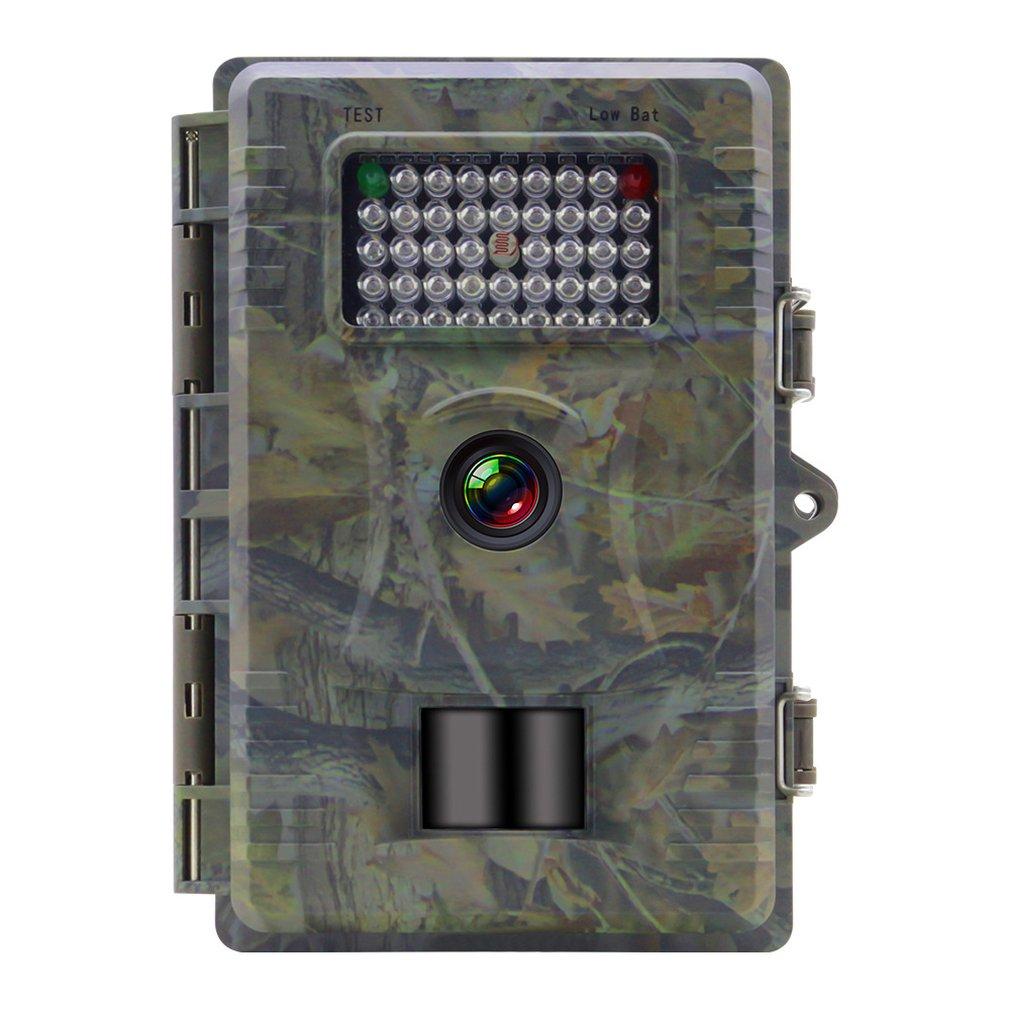 TC200 caméra de chasse HD étanche ABS 12 mégapixels résolution d'image Super Vision nocturne caméra de surveillance de sécurité extérieure