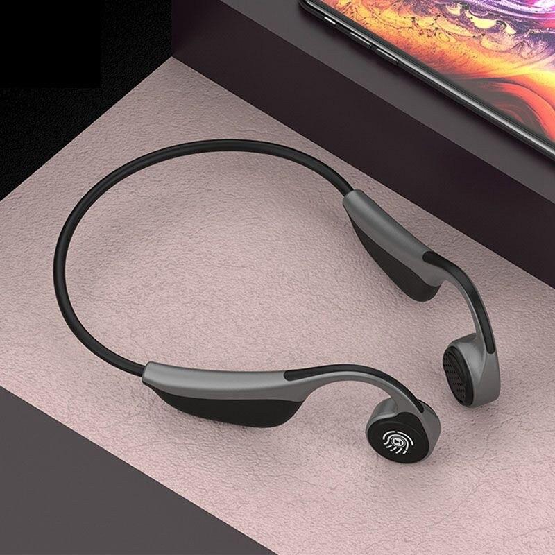Новый V9 беспроводной Bluetooth 5,0 наушники кости или вотсапе наушники для спорта на открытом воздухе гарнитура с микрофоном PK Z8 гарнитура