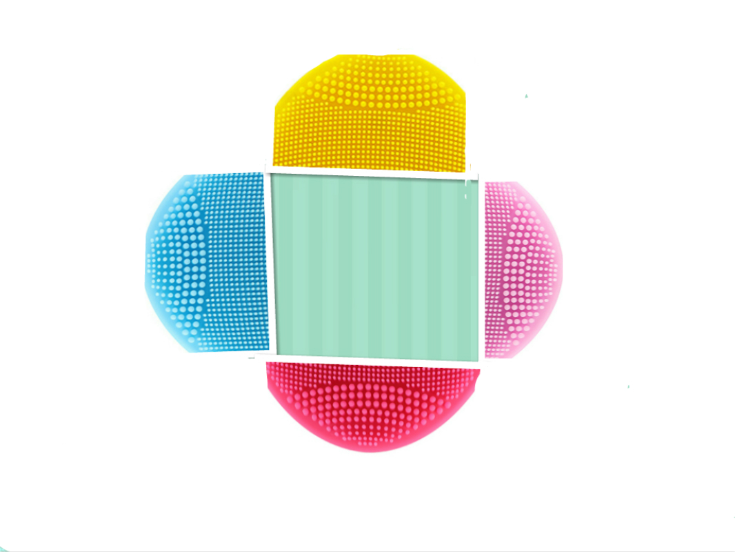 Waterproof USB Rechargeable Skin Care Massage MINI 2 Powered Facial Cleansing Brush Sonic Silicone Cleanser