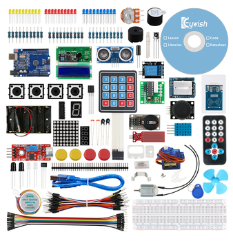 Arduino Starter Kit With 30 Courses LCD Tutorial For Arduino UNO R3