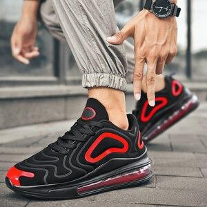 Размеры 36-47, воздухопроницаемая парная обувь для бега, женские кроссовки, мужская повседневная обувь, дышащая амортизирующая уличная спорт...