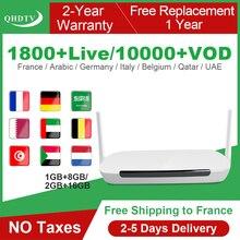 QHDTV IPTV France Arabic Italy Android Leadcool Q9 RK3229 H.265 Spain IPTV French German QHDTV IPTV Belgium Dutch Subscription leadcool pro qhdtv plus iptv france arabic italy canada android 8 1 1 8g 2 16g iptv france arabic italy spain canada qhdtv plus