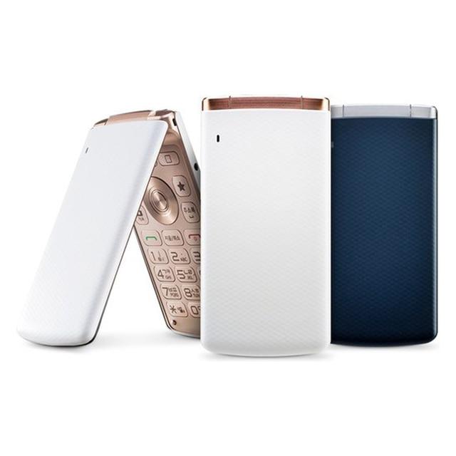Original LG Smart Folder 4G LTE Mobile Phone Unlocked LG X100 3.3'' 2GB RAM 16GB ROM 4.9MP Camera FM Radio Android SmartPhone 5
