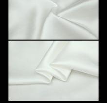 50 см*150 см импортированных белый яркий шелковый атлас пелерина Платье рубашка сплетенный шармез другие
