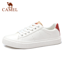 CAMEL Outdoor Leisure Shoes Women's White Flat Shoes Female Fashion Low-tops Breathable Sneakers Women Flats