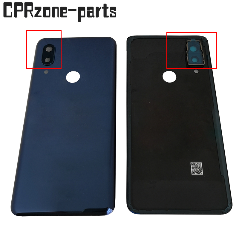Original With Camera Lens For ZTE Axon 9 Pro A2019 Pro A2019G Battery Rear Back Cover Door Housings Free Shipping