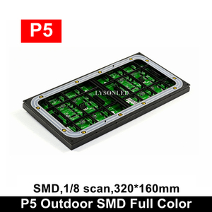 Image 2 - P5 SMD Ao Ar Livre Full Color Display Led Módulo 64x32 Pixels, Resistente À Água LEVOU Táxi Sinal de Vídeo Eletrônico