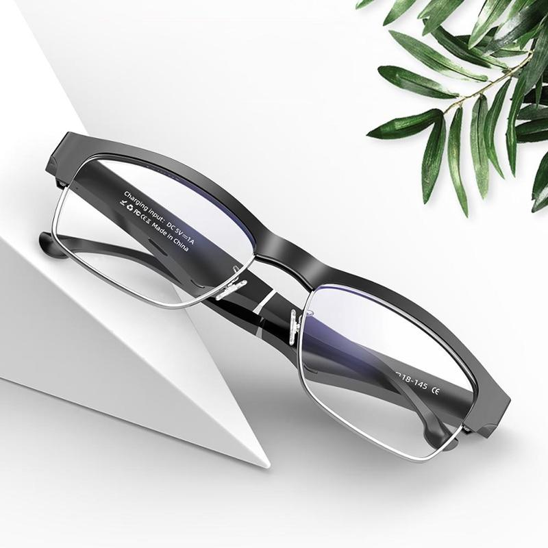 K2 bt5.0 óculos inteligentes chamada ouvir música fone de ouvido óculos 2-em-1 inteligente de alta tecnologia óculos de sol, adequado para android e ios