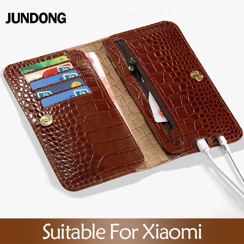 Flip Case For Xiaomi Mi 5s 6 8 9 A1 A2 lite Max 2 3 Mix 2s case Crocodile Grain Wallet Bag For Redmi Note 4 4X 4A 5 Plus case