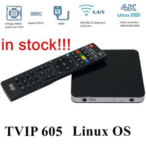 5PCS Tvip 605 TV Box Linux &An