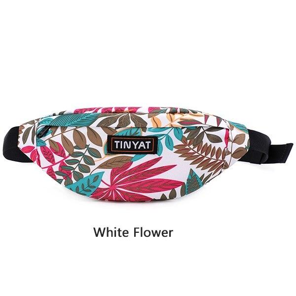 white waist pouch