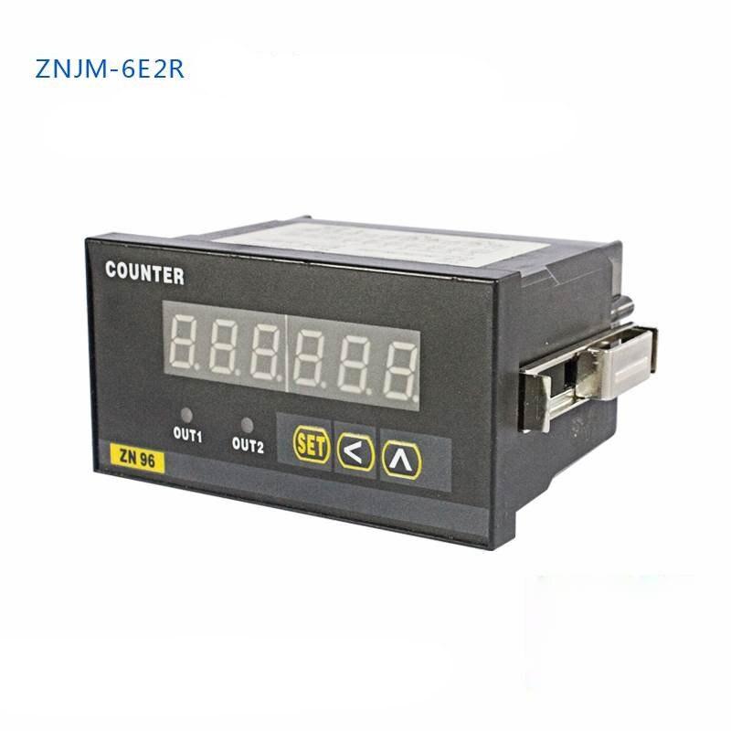 Fonction de décélération précoce d'alarme de sangle de Raster de compteur d'affichage numérique Intelligent de ZNJM-6E2R