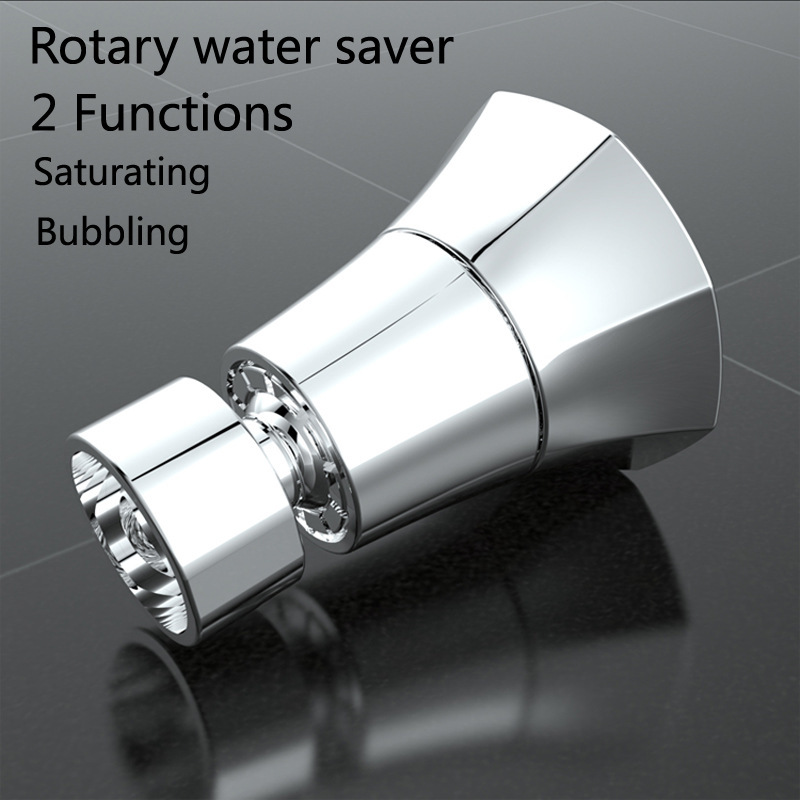 2020 New Kitchen Faucet Shower Nozzle Faucet Bubbler 360 Degree Universal Rotary Filter Nozzle Water Saver