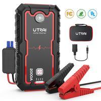 UTRAI 22000mAh voiture saut démarreur batterie externe Portable chargeur de secours Lithium Ion batterie voiture Booster dispositif de démarrage étanche