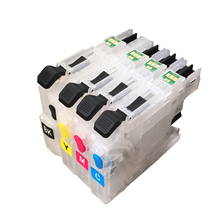 vilaxh LC233 Refillable Ink cartridge LC235 LC237 LC239 + Chip for Brother MFC-J5720DW MFC-J5320DW  Printer ink refillable cartridge chip resetter for brother lc223 lc203 lc213 lc233 empty cartridge for brother mfc j4420dw mfc j5320dw