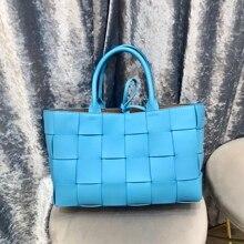 Kafunila genuine leather high quality tote women's bag luxur