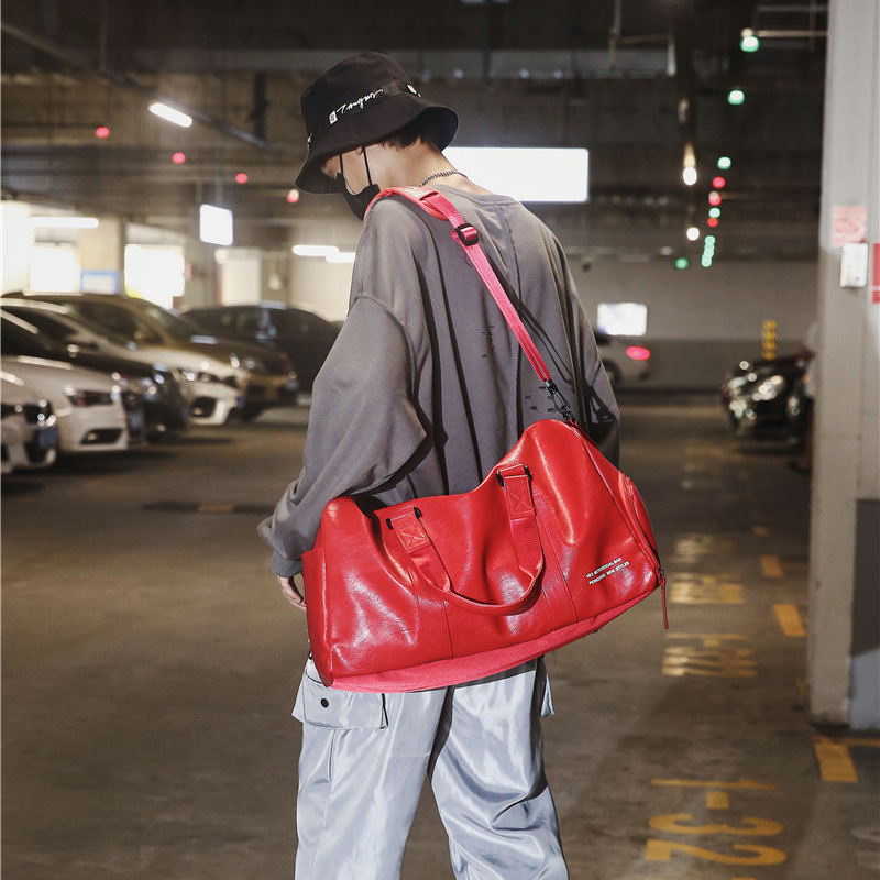 Travel Bag Women's Large Capacity Sports Gym Bag Short Trip Business Travel Handbag