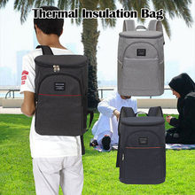 1Pc New Hot Sale 20L Thick Oxford Thermal Bag Picnic Bag Insulated Cooling Backpack Picnic Camping Rucksack Bag Ice Cooler Bag(China)
