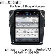 Car Multimedia Player Stereo GPS DVD Radio Navigation NAVI Android Screen for Mitsubushi Pajero S Shogun Montero V80 2006~2020 lsqstar 7 car dvd player w gps radio aux swc 6cdc tv canbus dual zone for mitsubishi pajero montero