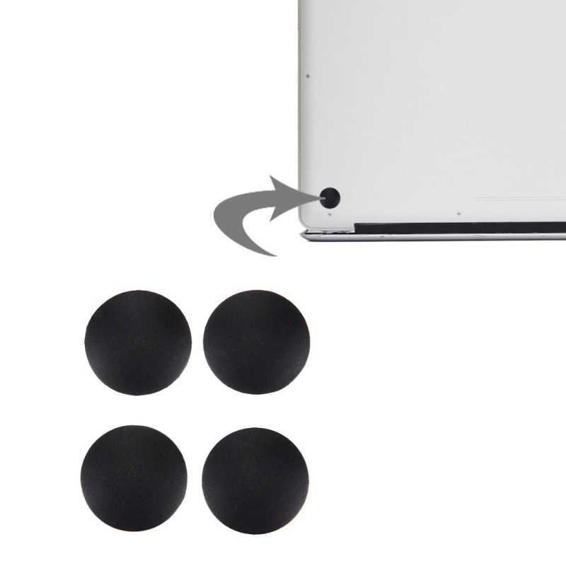 4 pièces/ensemble ordinateur portable en caoutchouc coque du bas pieds Kit coque arrière Mat pieds Base pour Macbook Pro A1278 A1286 A1297 accessoires d'ordinateur portable