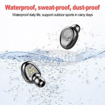 New 5.0 Bluetooth Earphone 8D Stereo Wireless Earbuds Mini Wireless Earphone Headset with  Power Bank Earphone Headphone 1