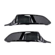 자동 앞 좌측 오른쪽 범퍼 안개등 램프 그릴 수정 VW Jetta MK6 VI 2012 2013 2014