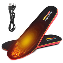 Insole Foot-Warmers Warm-Shoe Electric-Heated Wireless Winter for Skiing Hiking Camping