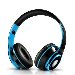Image 4 - AYVVPII sg8 IOS אוזניות עם מיקרופון Bluetooth אוזניות אלחוטי אוזניות לילדים בנות samsung oppo ספורט sd כרטיס