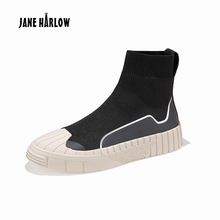 JANE HARLOW Flat shoes Casual Breathable shoes Non-slip Rubber Easy to wear Casual Shoes Easy to wear Lace-Up ladies shoes цена 2017
