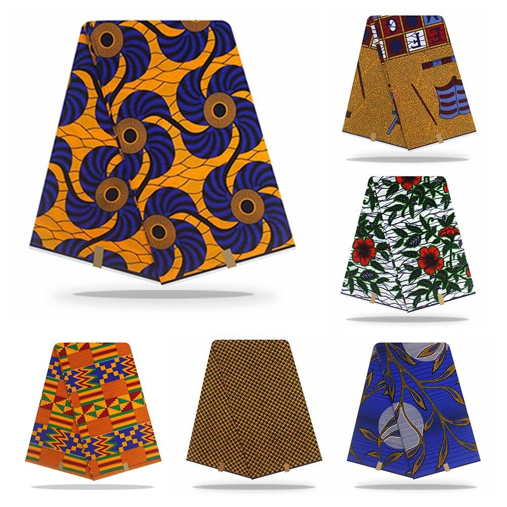 Nigeria Ankara African Wax Prints Fabric Veritable Dutch Real Wax Dutch Wax Dutch Wax Fabric Dutch Wax 100% Cotton Wax Fabric