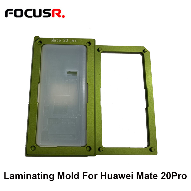 Air Bag LCD Screen Front Outer Glass OCA Alignment Laminating Mold With Unbent Flex Cable Pad  For Huawei Mate 20 Pro