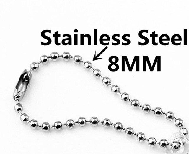 Фото ожерелье цепочка fishsheep из прозрачного акрила для мужчин цена