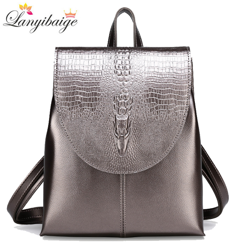 2020 New High Quality Pu Leather Backpacks Women Leisure Travel Backpack Fashion School Bags For Girls Mochila Feminina