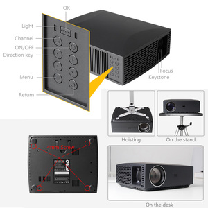 Image 4 - ALSTON F30 F30UP Full HD 1080P Projector 4K 6500 Lumens Cinema Proyector Beamer Android WiFi Bluetooth HDMI with gift