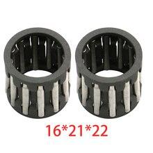 Pair Engine Top End Piston Wrist Pin Needle Bearings for Yamaha YFZ350 Banshee YFS200 Blaster RZ 350 IT 200 for Kawasaki 750 H2