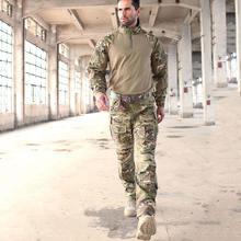 Уличная тактическая БДУ с защитой от царапин Охотничья униформа