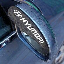 Eyebrow-Cover-Shield Car-Rearview-Mirror IX35 Elantra Creta Tucson Hyundais Rain-Water
