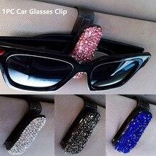 Car Vehicle Sun Visor Sunglasses Eyeglasses Glasses Card Ticket Holder for Car Accessories
