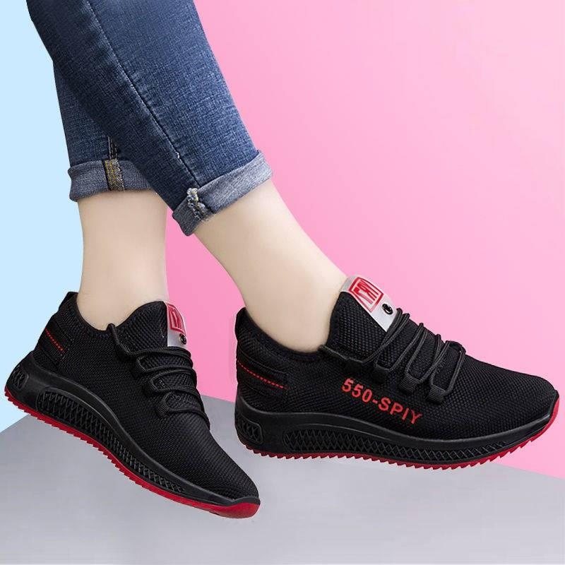 Running Shoes Women Lightweight Sport Shoes Non Slip Breathable Air Mesh Ladies Walking Gym Sneakrs Trianers Zapatillas Mujer